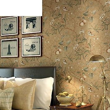 American Bird Tapete Apfelbaum Non Woven Schlafzimmer Wohnzimmer Country Style