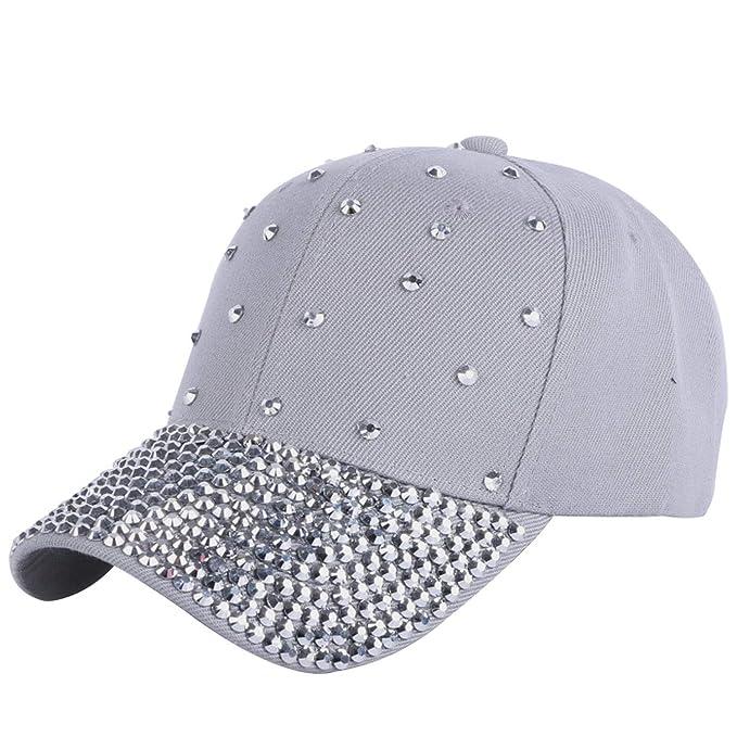 215103a8cddc0 All-About-Us Women Cap Baseball Cap Hats Handmade Rhinestone Beads Luxury  caps Woman