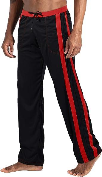 Men Fleece Jogger Tracksuit Bottoms Tracks Jogging Sweat Pants Baggy Trousers