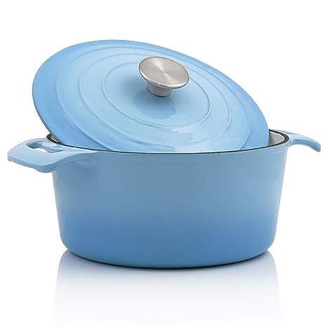 BBQ-Toro Cocotte - Olla de 4 litros, diámetro de 24 cm, Color