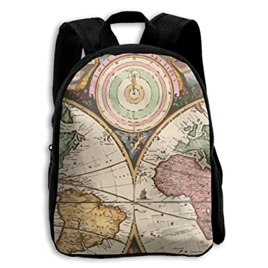 Amazon the childrens vintage old world map backpack kids the childrens vintage old world map backpack publicscrutiny Images