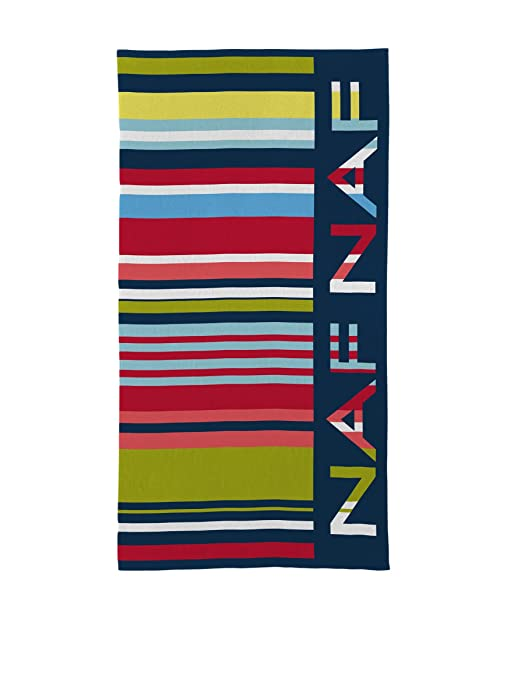 Naf Naf Toalla Playa Code Multicolor 90 x 180 cm