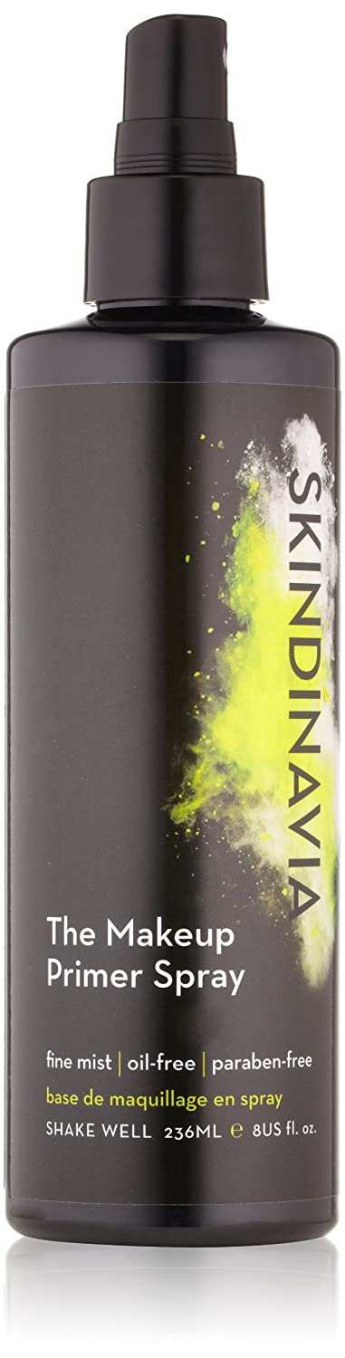Skindinavia Makeup Face Primer Pore-Minimizing Paraben-Free Silicone-Free Cruelty-Free Flawless Application Spray – 8 oz – 236 ml