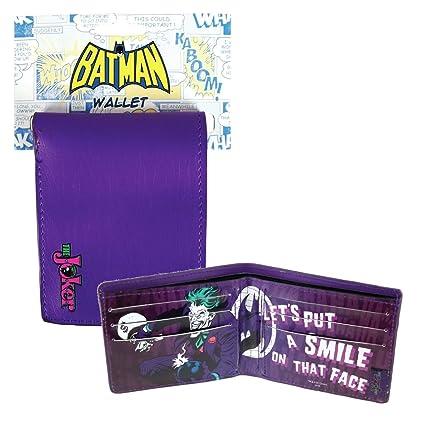 cartera de joker de batman: Amazon.es: Equipaje