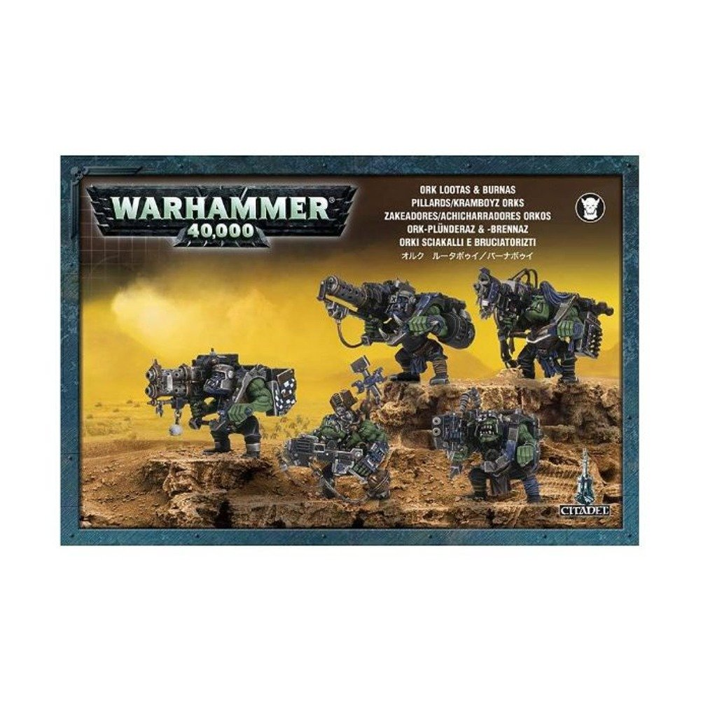 Games Workshop Jeux Atelier 99120103014 Warhammer 40 K Ork Lootas et Burnas 2008 Action Figure