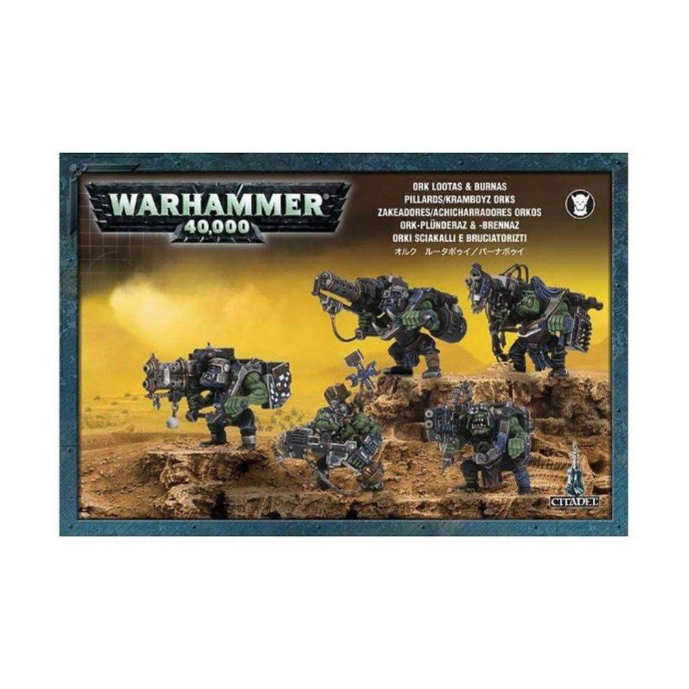 Games Workshop Jeux Atelier 99120103014Warhammer 40K Ork Lootas et Burnas 2008Action Figure