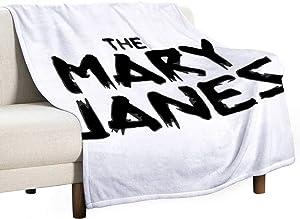 Er-Gwen The Mary Janes Lightweight Sweat 3D Printing Blanket Cartoon Character Blanket Quilt Anime Fan Soft Plush Fleece Sherpa Blanket Gift (150cm x 200cm)