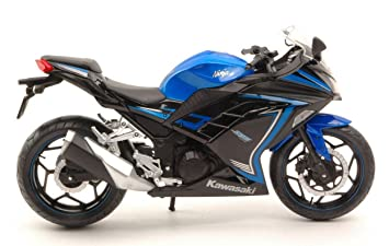 JOY CITY JOY605308 KAWASAKI NINJA 300 2015 BLUE/BLACK 1:12 ...
