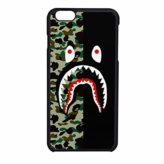 d27cbfc29c96 Amazon.com  Bape shark colorfull 3 Case For iPhone 7  Cell Phones    Accessories
