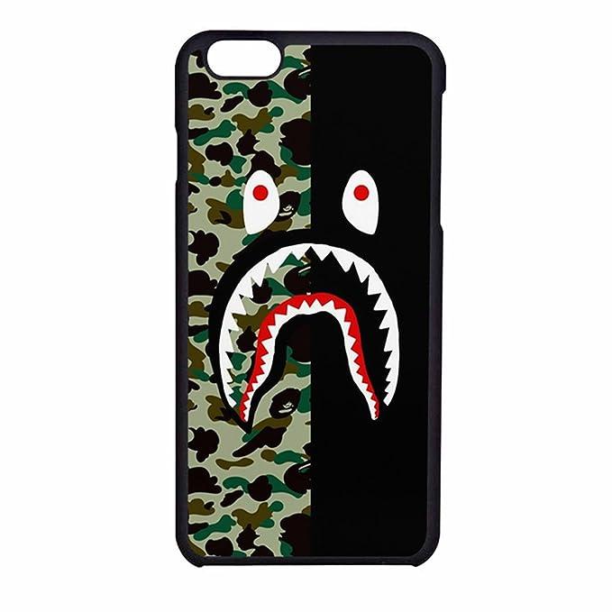 Bape Shark Colorfull 3 Case For IPhone 7