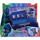 PJ Masks Vehicle & Figure - Night Ninja Bus
