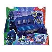 PJ Masks Mezzo e personaggioNight Ninja Bus
