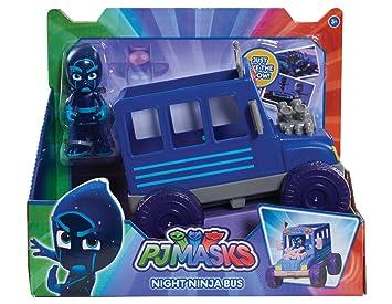 PJ Masks - Autobús Ninja Nocturno (Bandai 24579)