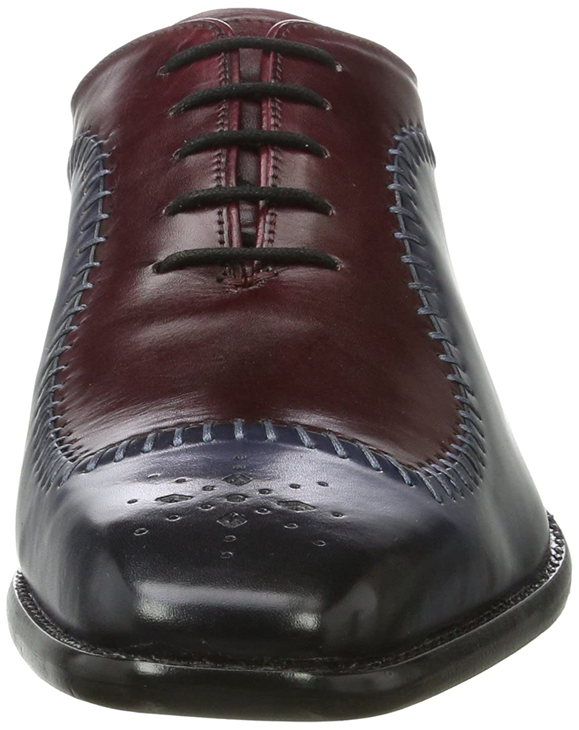 MELVIN & HAMILTON MH HAND MADE Schuhe OF Oxfords CLASS Herren Clark 2 Oxfords OF Blau (Crust Navy (1), Burgundy (2), Ls Blk) ab2271