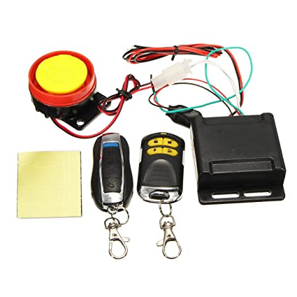 Amazon.com: Motorcycle Alarm Remote car alarm security ...