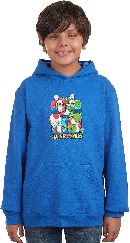 Gift Boys Girls Super mario bros Kids Winter Hoodie Coat Jacket Outerwear 4-14Y