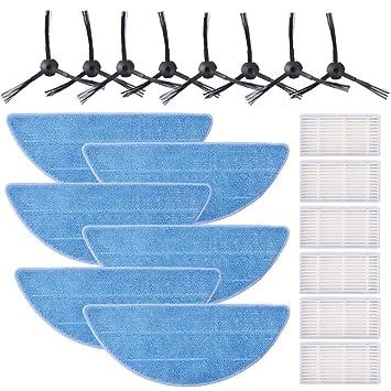 KEEPOW 20 pcs Accesorios para Chuwi ILIFE V3s Pro, V3s, V5, V5s,