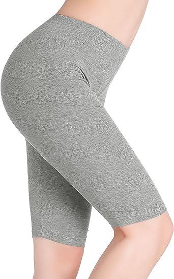 Verano Casual Pantalón Rodilla Leggings Cortos Mujer - Elásticos ...