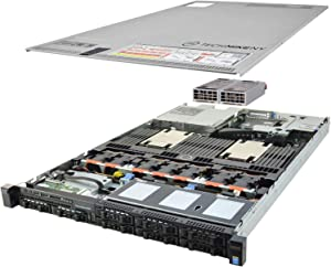 TechMikeNY Server 3.00Ghz 8-Core 16GB 2X 300GB Enterprise PowerEdge R630 (Renewed)