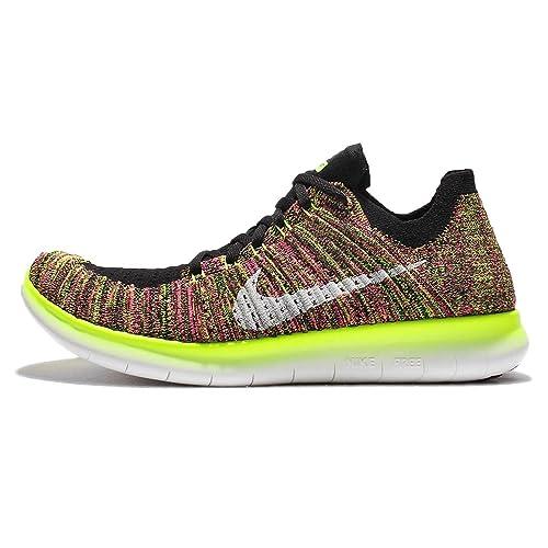 Nike Wmns Free RN Flyknit OC, Zapatillas de Running para Niñas, Negro, 36 1/2 EU: Amazon.es: Zapatos y complementos