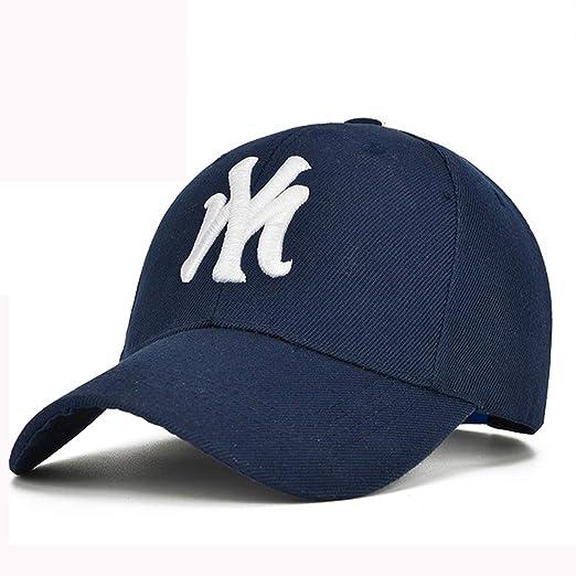 Fashion My New York NY Embroidery Baseball Cap Hip Hop Cap Fitted Hockey Adjustable Hat Gorras Unisex Cap Black at Amazon Womens Clothing store:
