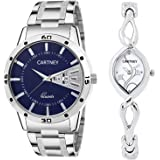 CARTNEY Analogue Multicolor Dial Men's & Women's Couple Watch (Cty0603)