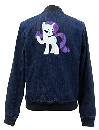 Rarity Pony Bomber Chaqueta Girls Jeans Certified Freak