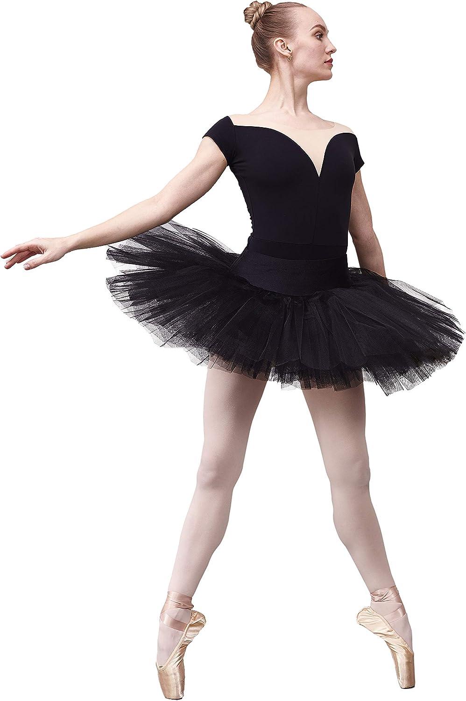 Ballettröckchen Damen Mädchen Ballett Tanz Wickelrock Rumpf R3050 Röckchen Rock