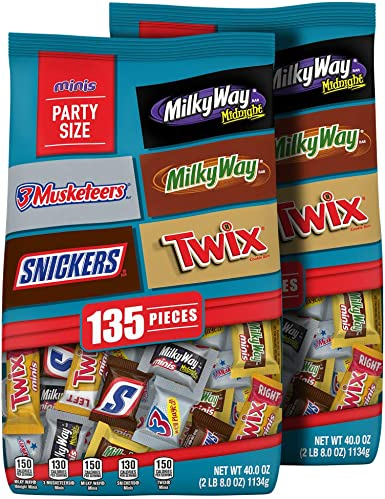 MARS Chocolate Minis Size Candy Variety Mix 40-Ounce Bag (Pack of 2): Amazon.es: Alimentación y bebidas