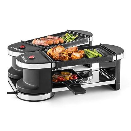 Klarstein Tenderloin Mini Raclette Grill • Parrilla de sobremesa • Barbacoa-Party • 600 W
