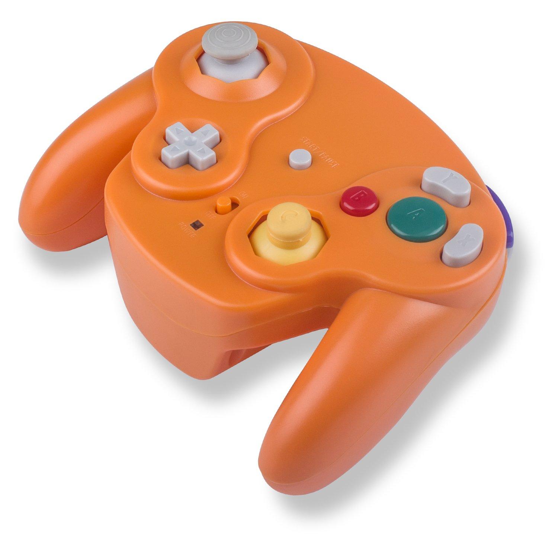 TechKen Gamecube Controller NG Controller Replacement Wireless Classic Controller Gamepad Compatible Nintendo Gamecube Wii