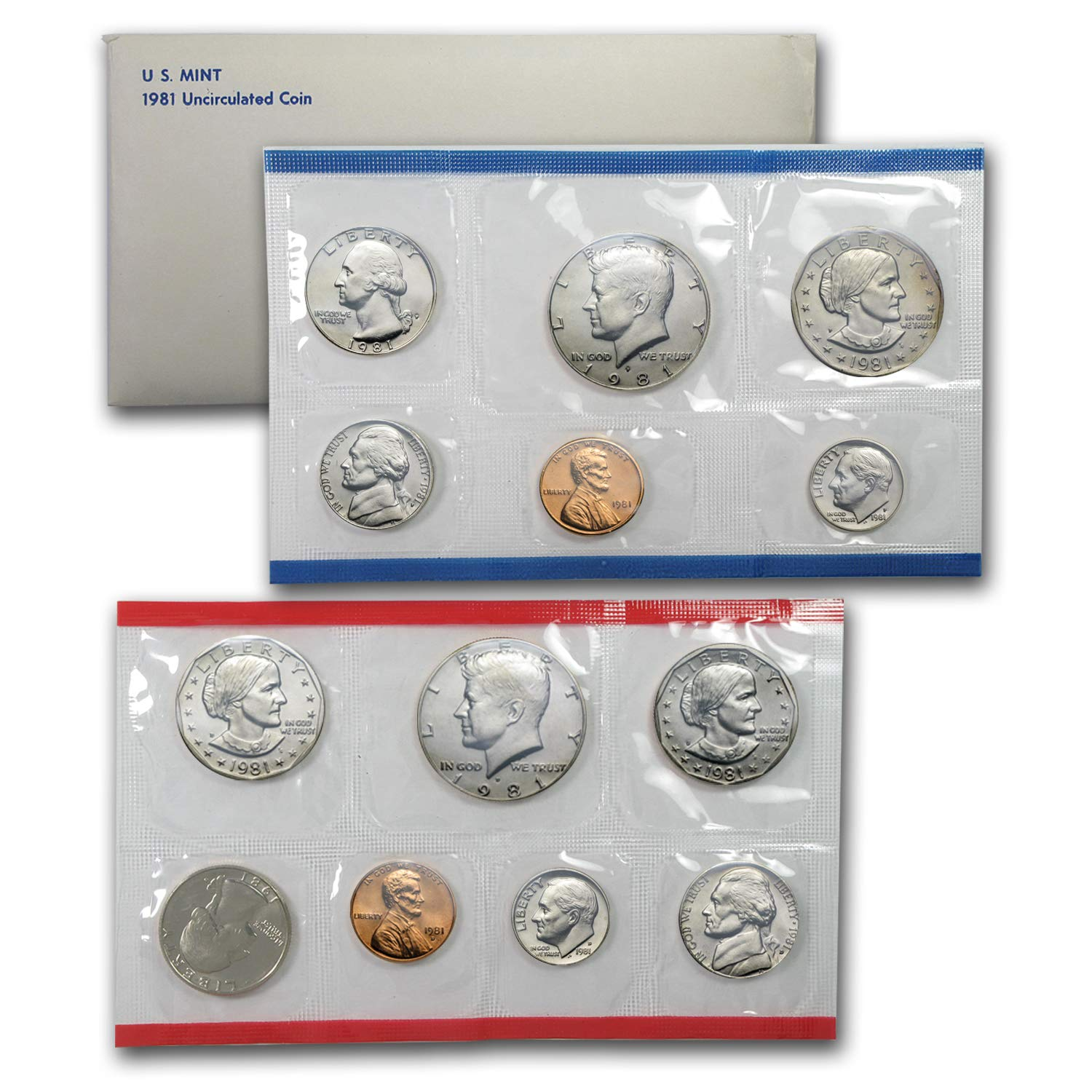 All Original AND Complete package PDS 1996 W US Mint Set WITH West Point Dime