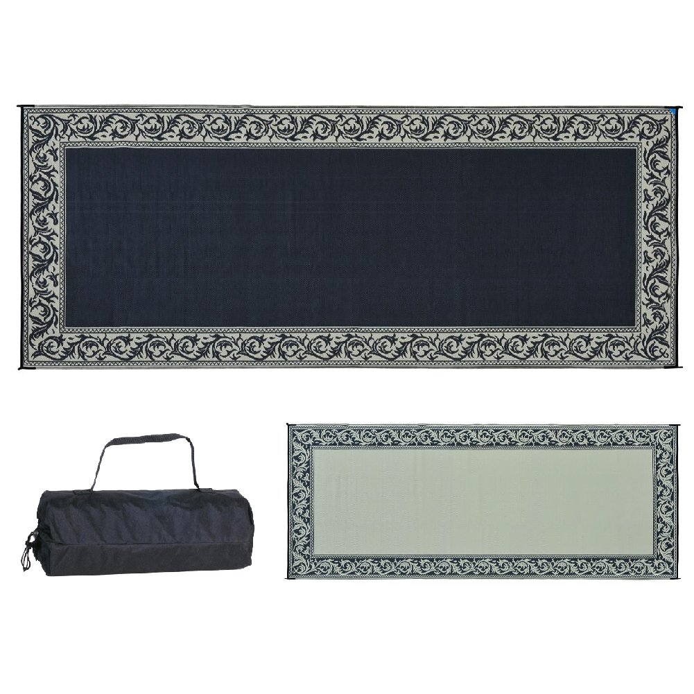 Ming's Mark RC1 Black/Beig 8-Feet x 20-Feet Classical Mat