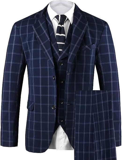 Amazon.com: Hanayome traje casual elegante de 3 piezas con ...