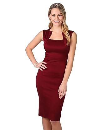 KRISP - Vestido - Básico - Sin mangas - para mujer: Amazon.es: Ropa y accesorios