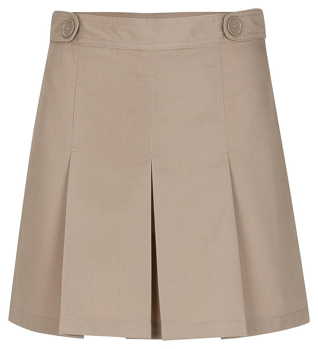 Classroom Uniforms Girls Adjustable Waist Hipster Scooter_Khaki_14 55322A