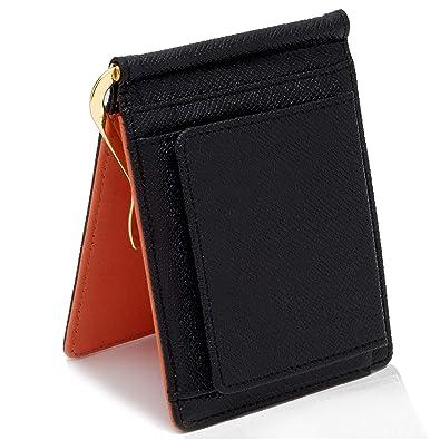 d4c645d55a7743 【GRAV】 マネークリップ 小銭入れ付き メンズ 財布 二つ折り (ICカードポケット 隠し