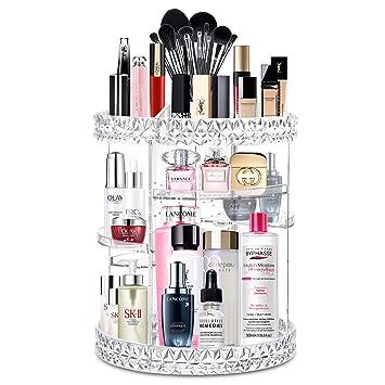 Amazon.com: Alvorog - Organizador de maquillaje giratorio de ...