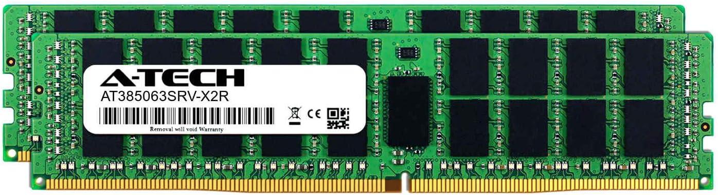 2 x 8GB DDR4 PC4-21300 2666Mhz ECC Registered RDIMM 2rx8 Server Memory Ram A-Tech 16GB Kit AT385063SRV-X2R2 for GIGABYTE G250-G51
