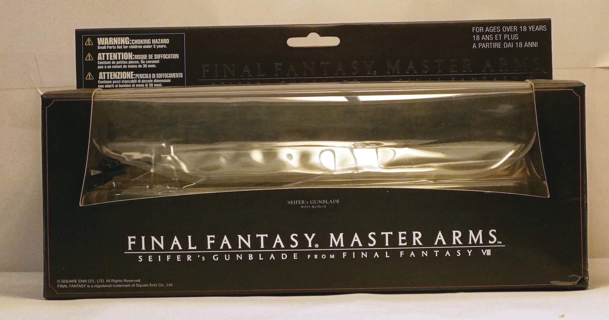 Kotobukiya Final Fantasy Master Arms Die-Cast Replica: Seifer's Gunblade