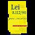 Lei 8.112/90 para Concursos: Dicas e testes (Direito Transparente)