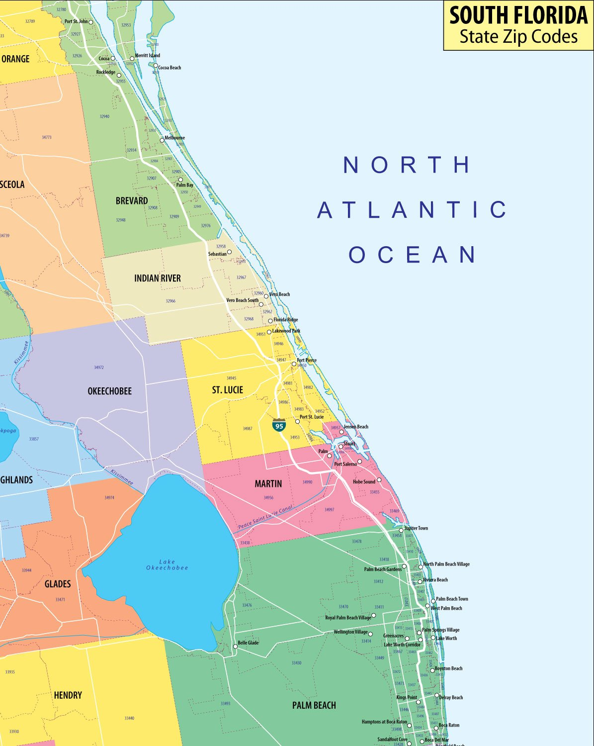 Zip Codes South Florida Map.Miami Dade Zip Code Map Chinese Face Mapping