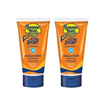 Banana Boat Ultra Reef Friendly Sunscreen Lotion, Broad Spectrum SPF 30, TSA Approved, Sport, 3 Ounce (Pack of 2), 6 Fl Oz