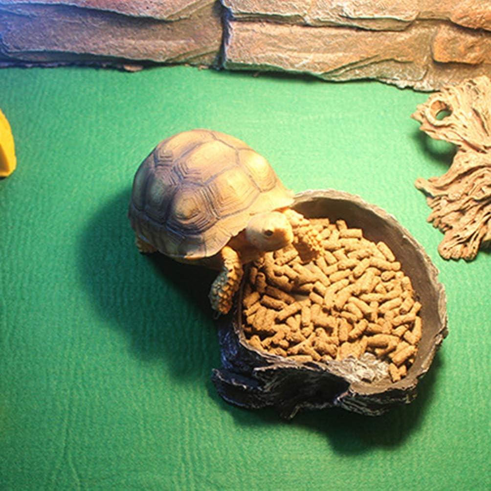 POPETPOP Reptil Mascota Poli/éster Esterilla Terrario Absorci/ón de Agua Degerming Reptil Suministros Alfombra Lagarto Tortuga Alfombra para Camale/ón Gecko