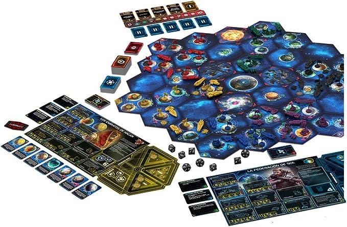 Fantasy Flight Games- Twilight Imperium Cuarta Edición - Español, Color (FFTI07): Amazon.es: Juguetes y juegos