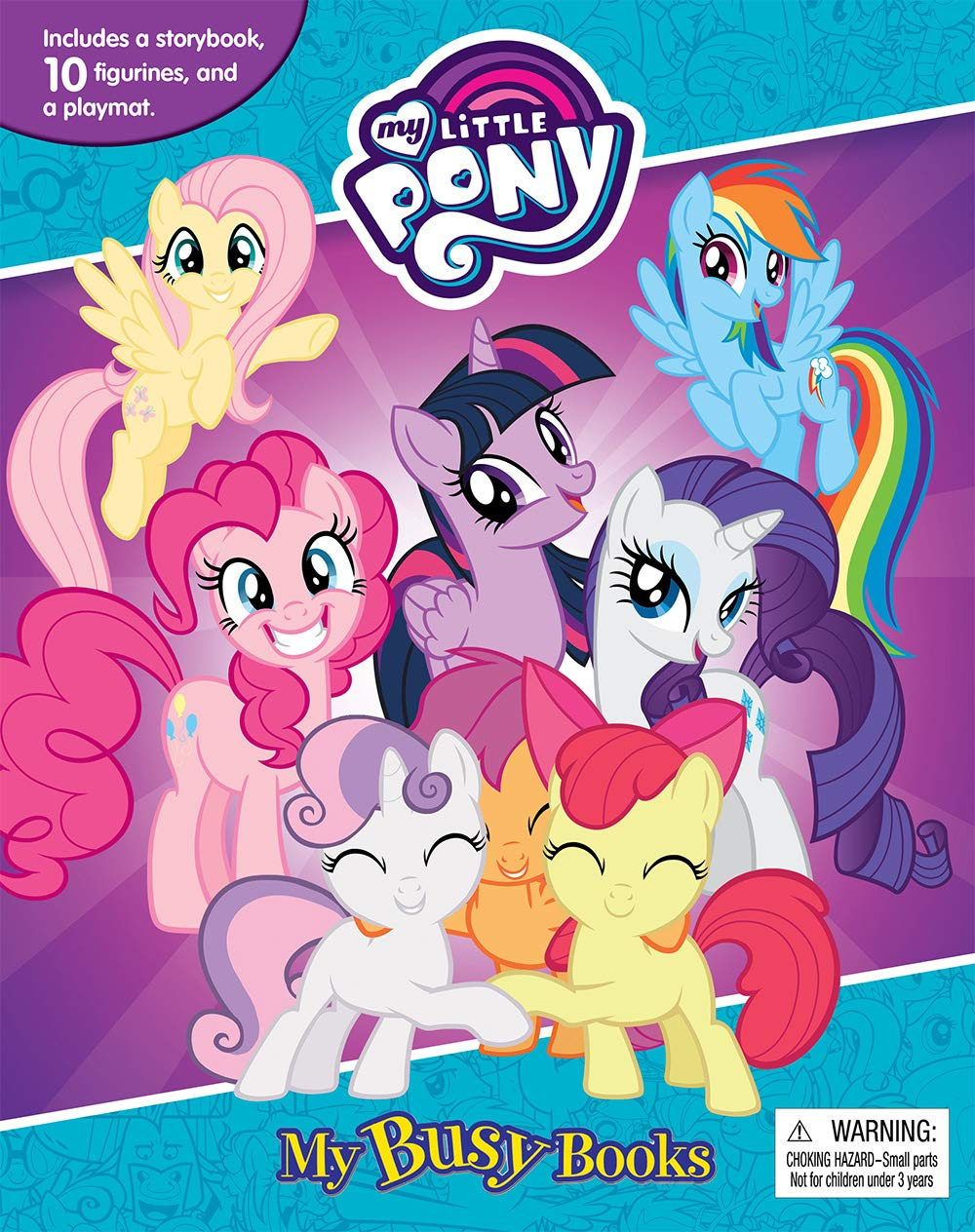 - My Little Pony - My Busy Books: Phidal Publishing Inc