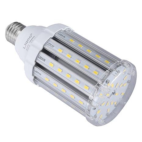 Liqoo 20W Bombilla LED E27 Lámpara Blanco Natural Neutral 4000K AC 85-265V Ángulo de