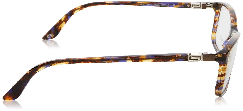 cd516270f4 Versace Eyeglasses VE 3163 BROWN 992 VE3163  Amazon.co.uk  Clothing
