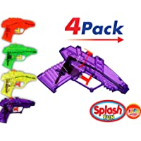 Water Guns (4 units in 1 Pack)  Toy Squirt Gun  Item #858-1p