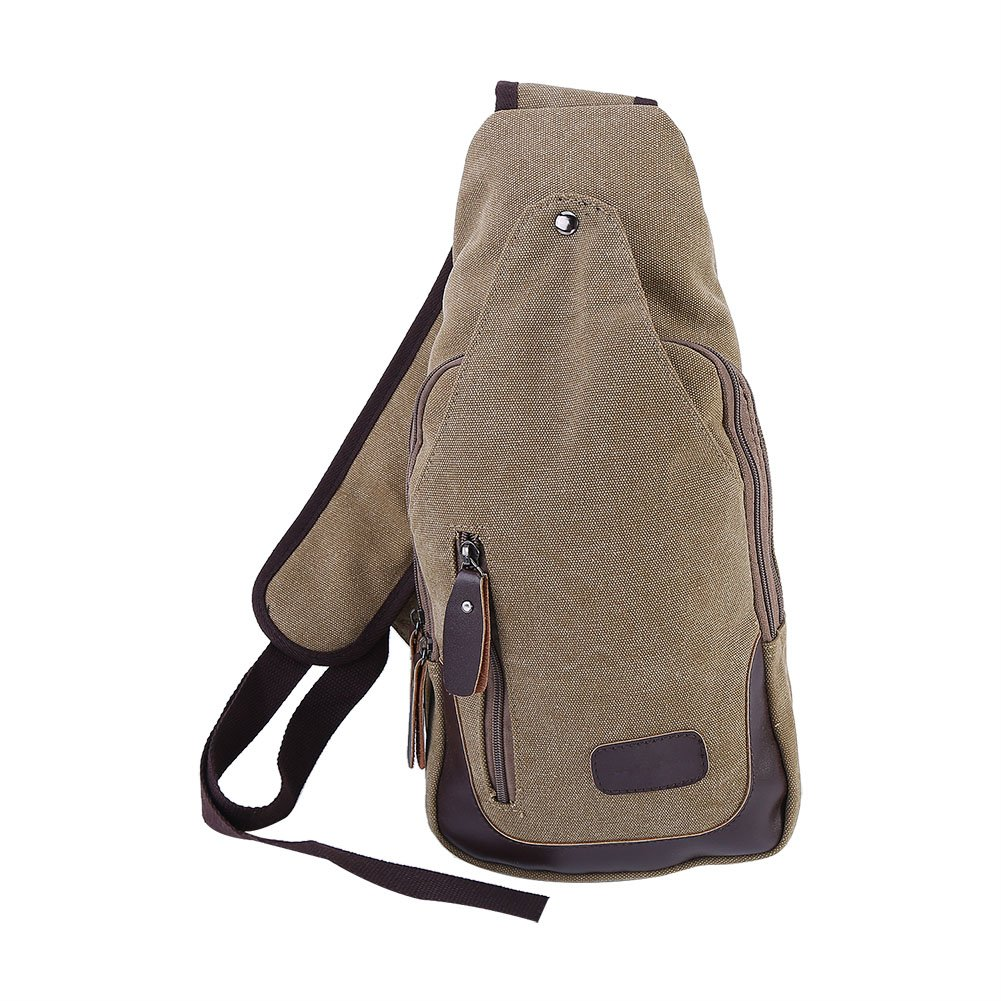 Chest Bag Canvas Sling Bags Cross Body Back Pack for Outdoor Camping Hiking  chic 176db09660a24